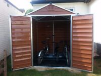 Very neat Palram polycarbonate shed