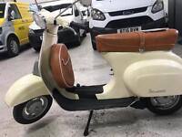 A beautiful 1972 Vespa 50 Special