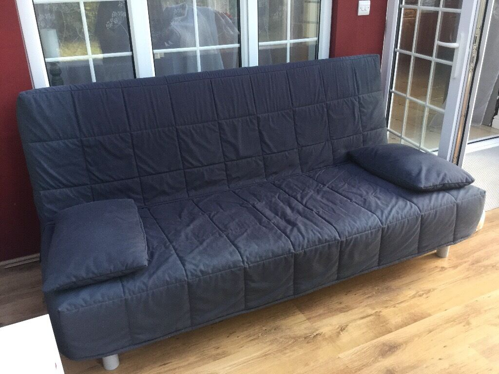 Sofa bed IKEAin Leighton Buzzard, BedfordshireGumtree - Sofa bed Ikea beddinge style with storage box included. Dimensions 200x33cm sofa When bed 200x140cm Matress in really good conditions.been used only a few times. The cover has marks but you can still buy a new cover at Ikea for 40 pounds. Retail...