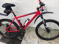 Carrera 18 inch mountain bike