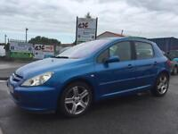 2004 PEUGEOT 307 D HDI *DIESEL* 5 DOOR *READY TO DRIVE AWAY*