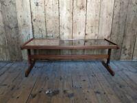 G Plan coffee table tile & afromosia teak Danish style teak vintage retro gplanera