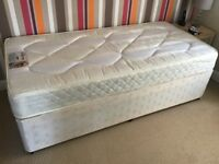 Single bed which goes into double