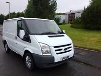 LOOKING FOR A GENUINE VAN TO LAST YOU YEARS LOOK NO FURTHER 2012 model FORD TRANSIT SWB LOW MILES