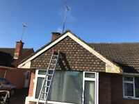 Fascia and gutter cleaning, replacement and repairs
