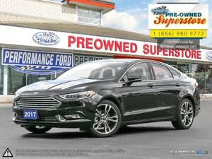2017 Ford Fusion TITANIUM>>>Leather, AWD, NAV<<<