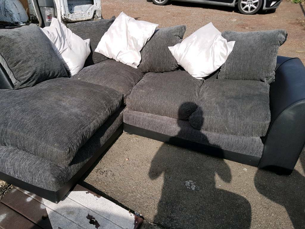 Marvelous Nice Big Comfy Grey Corner Sofa In Croesyceiliog Torfaen Gumtree Uwap Interior Chair Design Uwaporg