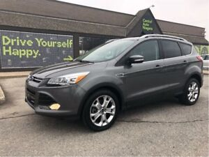 2014 Ford Escape Titanium / NAVIGATION / LEATHER / SUNROOF
