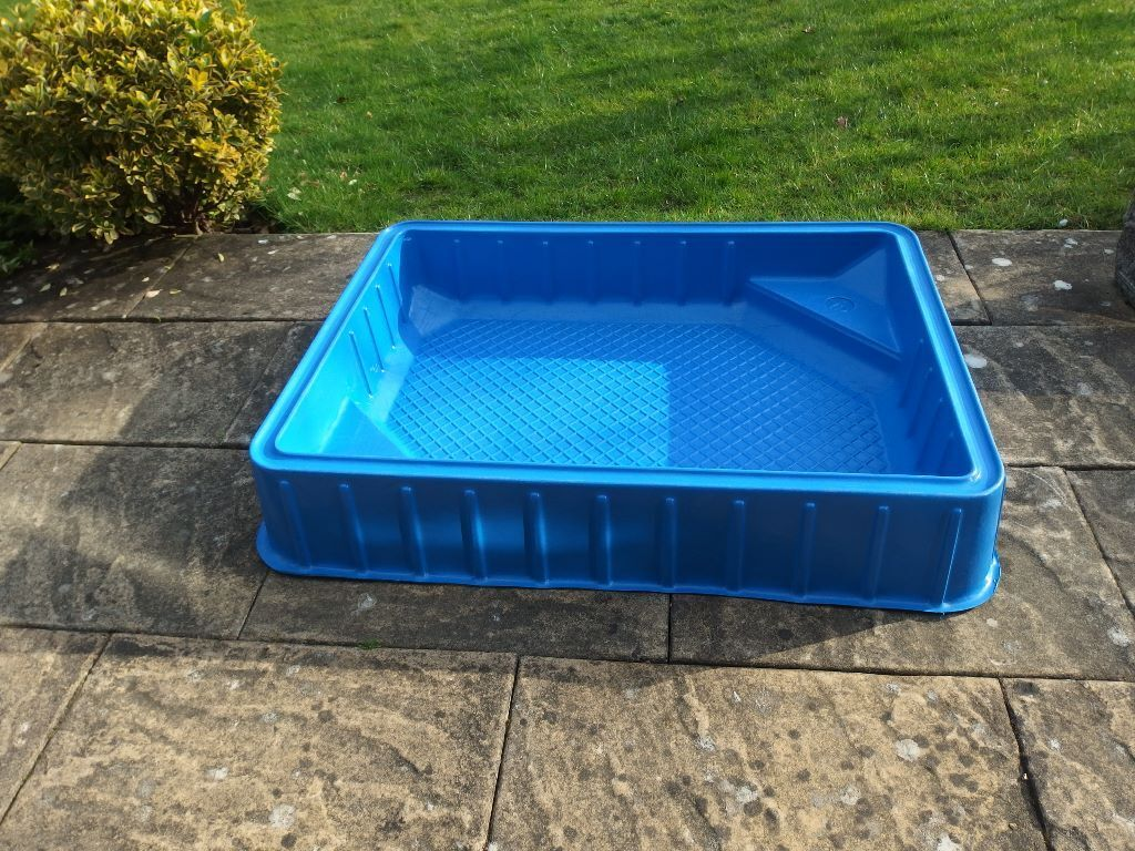 Sandpit Paddling Pool Of Rigid Polyplastic Construction