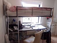 Bunk Bed / Cabin Bed with Big Desk collection from London W8