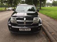 Dodge Nitro 2008 Black Diesel £2349
