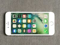 iPhone 6 Unlock 16GB Silver very good condition box and accessory