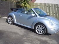 1.9 tdi vw beetle convertible with 18in alloys