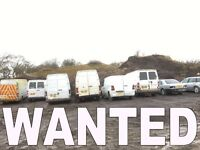 WANTED!!! VANS FOR EXPORT ANY CONDITION