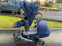 Baby Style Hybrid Edge single/ dual pushchair