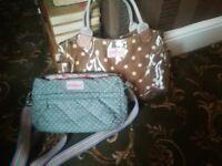 2 X Designer Handbags Cath Kidston