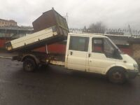 transit tipper, 55 plate £ 1395 ono