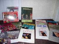 Sheet music/song books