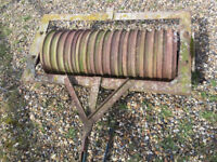 Cambridge Roller for Paddock or Menage manintenance or for smallholders before sowing
