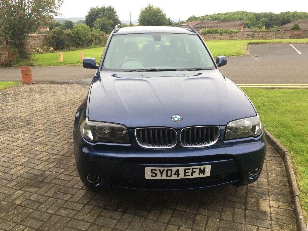 BMW X3 4x4 2.5i manual E83 Sport Aerodynamic Kit only 79K miles