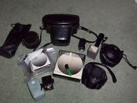 Various Old Camera Accessories/Gear, full list pictured, Lens, Cases, Filters and More