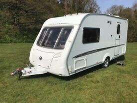 Swift Challenger 480 (2007) 2 Berth Fitted Motor Mover & Full Size Awning Excellent Condition.