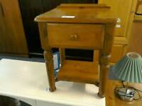 Bedside cabinet with one drawer #32562 £22