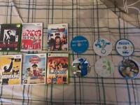 Wii & Xbox games
