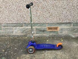 Mini Micro scooter (blue)