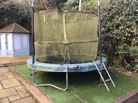 8ft Garden trampoline - £1 to a good home