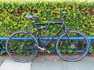 Single Speed, Black Bicycle