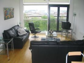 stunning and spacious furnished 3 bedroom , 2 bathroom apartment to let close to city centre