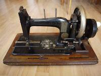 Antique Seidel Naumann sewing machine 1890s