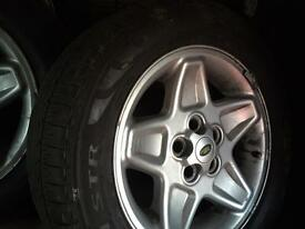 Wheels to fit land rover td5