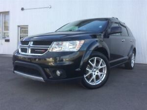 2013 Dodge Journey R/T, 7 PASS, AWD, LEATHER, COLOR TV.