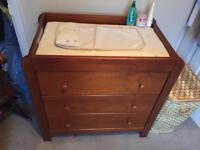 Mamas and Papas Cot-bed and changing table