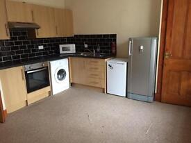 One bedroom ground floor flat in quiet residential area of Cupar