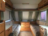 ABI Marauder 520 ET 1996 4 Berth Touring Caravan
