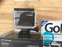 "GoPro Hero 4 Black 4K and Lcd 'BacPac"" touchscreen. Brand new"