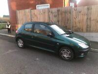 Peugeot 206 bargain, just passed MOT