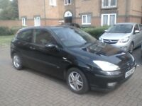 Ford Focus 3 door 1.6 manual mot march 19 great runner very economical