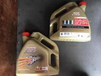 Castrol Edge 0W-30 A5/B5 engine oil 2x 4 litres