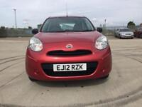 2012 Nissan micra only 28,000 miles one owner
