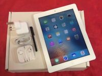 Apple iPad 4 64GB WiFi, White, +WARRANTY, NO OFFERS