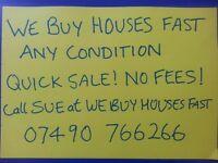 WOULD YOU RATHER SELL YOUR HOUSE THAN RENT IT OUT? WE BUY HOUSES / FLATS FAST