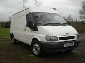 FORDTRANSIT 350 / 90 B.H.P ~ LONG W/B ~ SEMI HIGH ROOF, ~ LOW MILEAGE ~ FITTED WITH AWNING ~