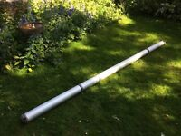 BRISTOR Aluminium Van Roof Rack Tube / Pipe Carrier 3m