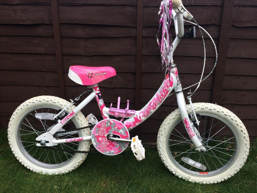 Girls probike with tassles