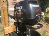 Suzuki DF6 6hp 4 Stroke Short/Standard Shaft Outboard Engine 2005