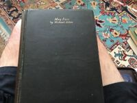 May fair by Michael Arlen hardback Collins 1925 first edition GC ok PST free with PayPal
